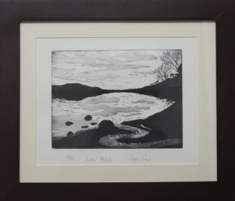 Art print loch Morlich