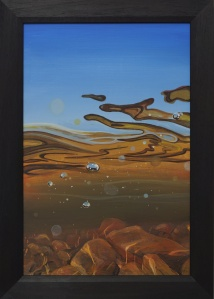 Angus grant fine art painting highland landscape loch Ericht