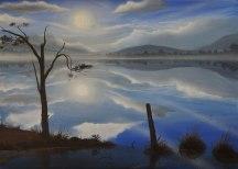 Loch Garten, Angus grant, Highland landscape, painting