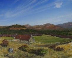 Rynettin, fine art landscape painting, angus grant