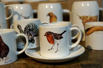 robin cup saucer
