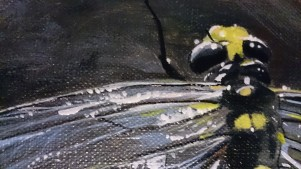 Painting detail dragonfly