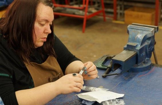 Silversmithing workshop