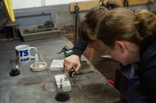 Silversmithing workshop rings
