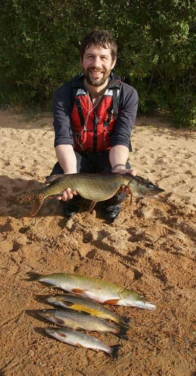 Angus Grant fish Loch Morlich