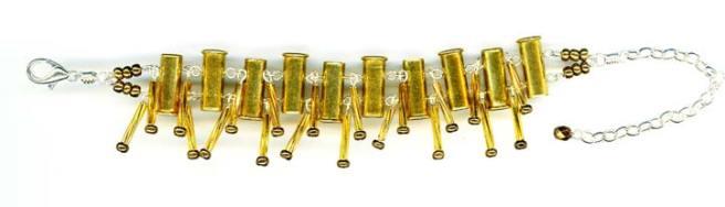bullet bracelet jewellery, Angus Grant Art