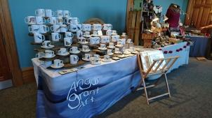 Angus Grant Art craft stall
