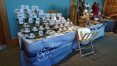 Angus Grant Art craft stall