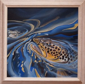 Mike's Trout by Angus Grant