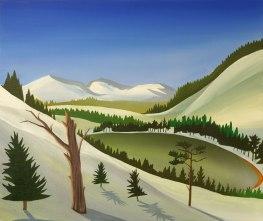 The Green Loch, Angus Grant Art