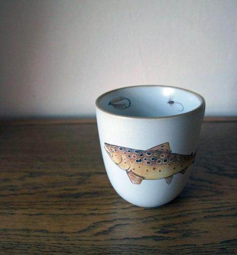 Big fish mug, Angus Grant Art