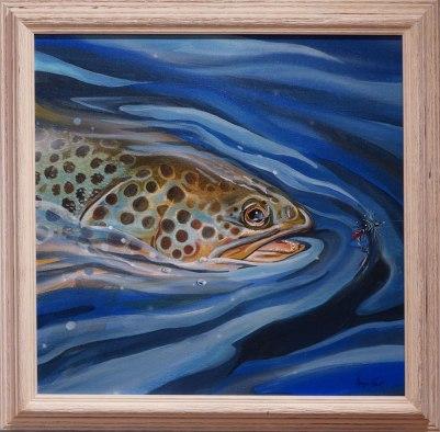 Blue Zulu trout