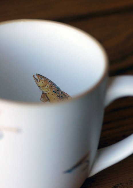 Rising from the deep of your coffee mug