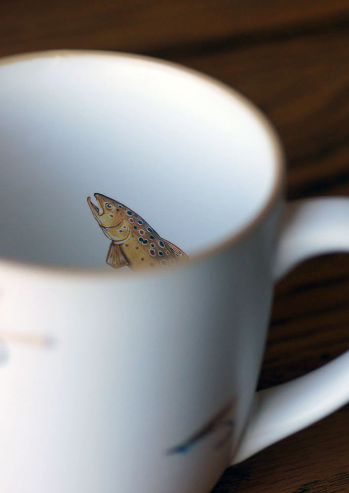 Rising from the deep of your coffee mug, Angus Grant Art