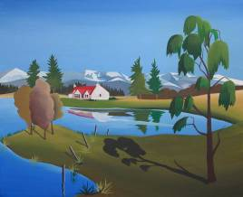 Avielochan by Angus Grant Art, Cairngorms National Park