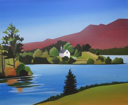 Loch Alvie by Angus Grant