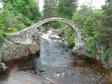 The Packhorse Bridge at Carrbridge