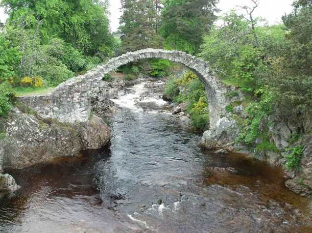 The Packhorse Bridge at Carrbridge