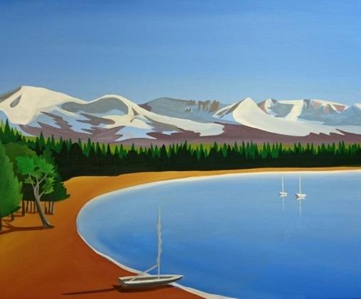 Loch Morlich Beach Cairngorms by Angus Grant