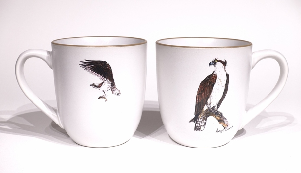 Osprey Chunky Mug by Angus Grant Art