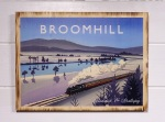 Broomhill pine print by Angus Grant