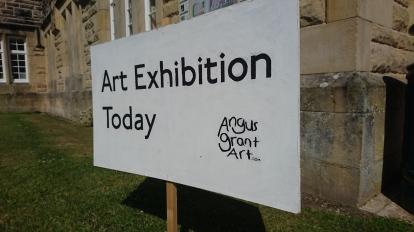Angus Grant exhibition