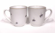Bumblebee chunky mug by Angus Grant