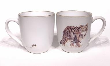 Wildcat chunky mug by Angus Grant