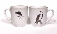 Osprey chunky mug by Angus Grant