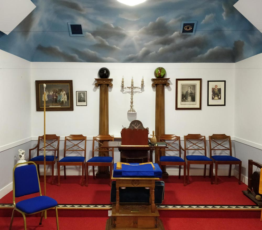 The view before, Freemasons Lodge, Grantown