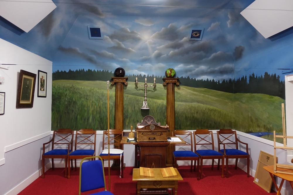 After two years, Freemasons Lodge, Grantown-on-Spey, Angus Grant Art