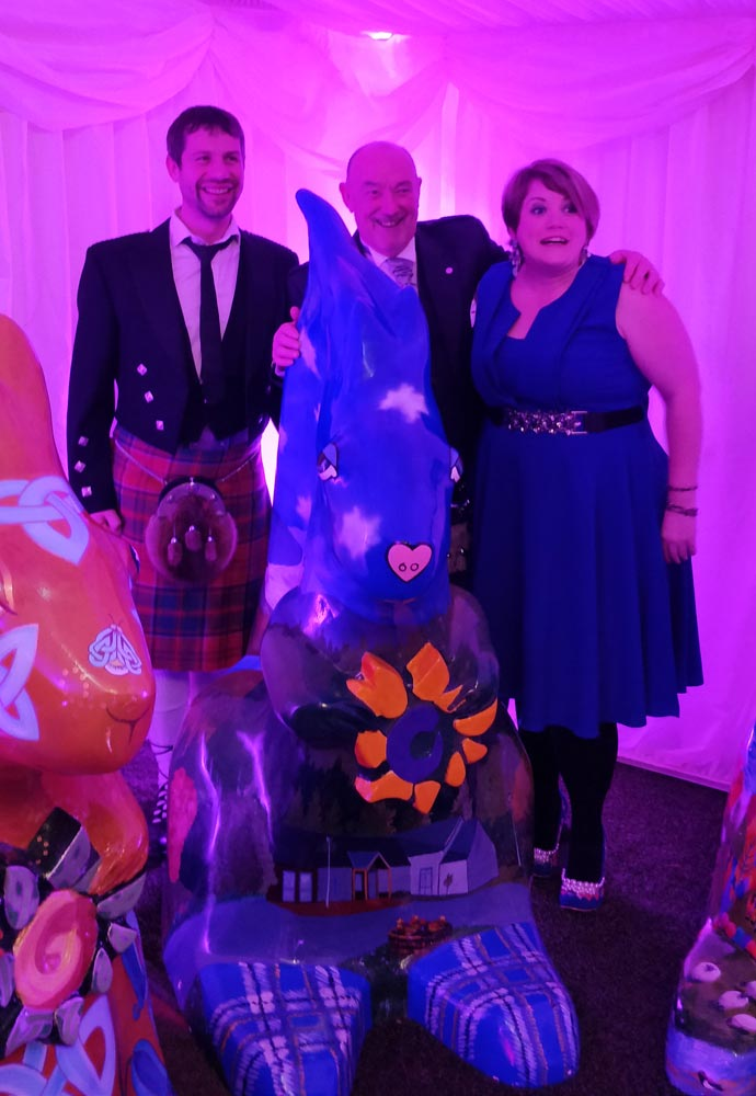 Highland Hospice Squirrels auction, Angus Grant