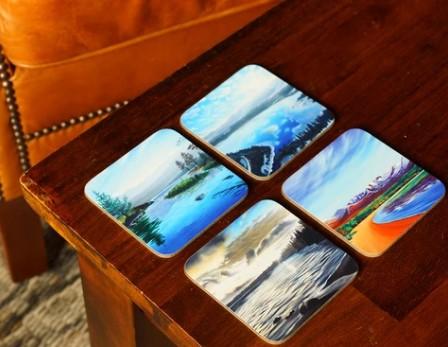 Loch Morlich Coaster set by Angus Grant