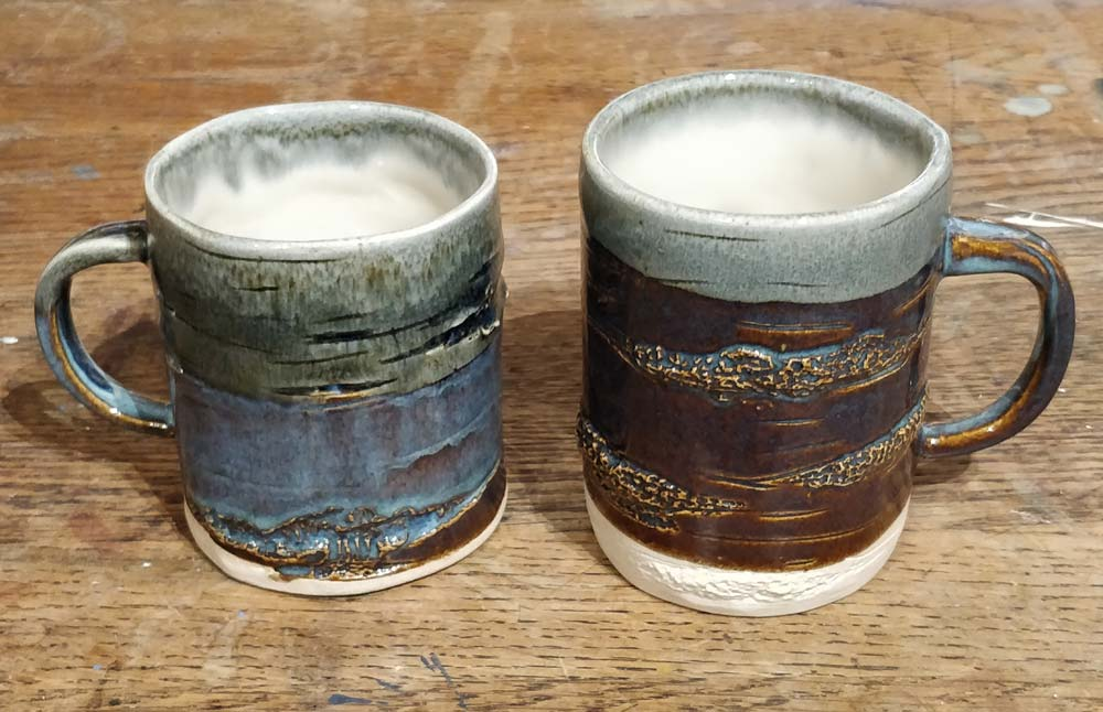 New tree mugs by Angus Grant Art