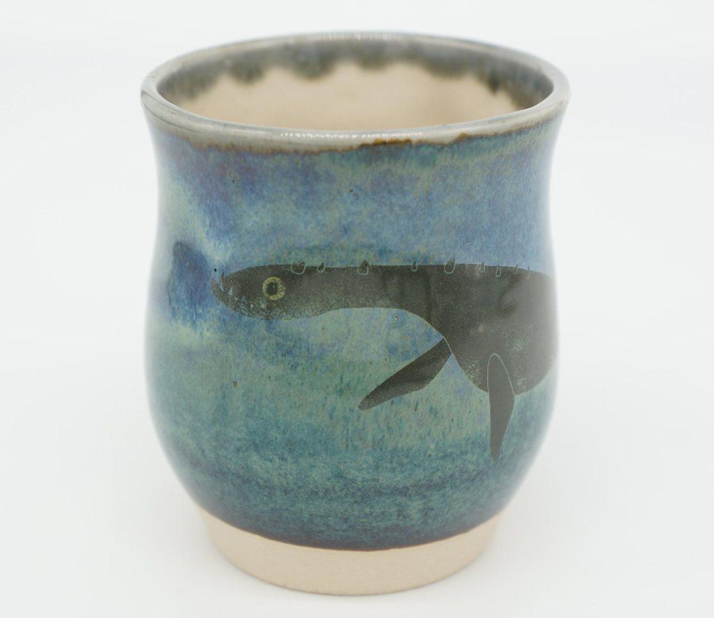 Slip-cast mugs by Angus Grant Art